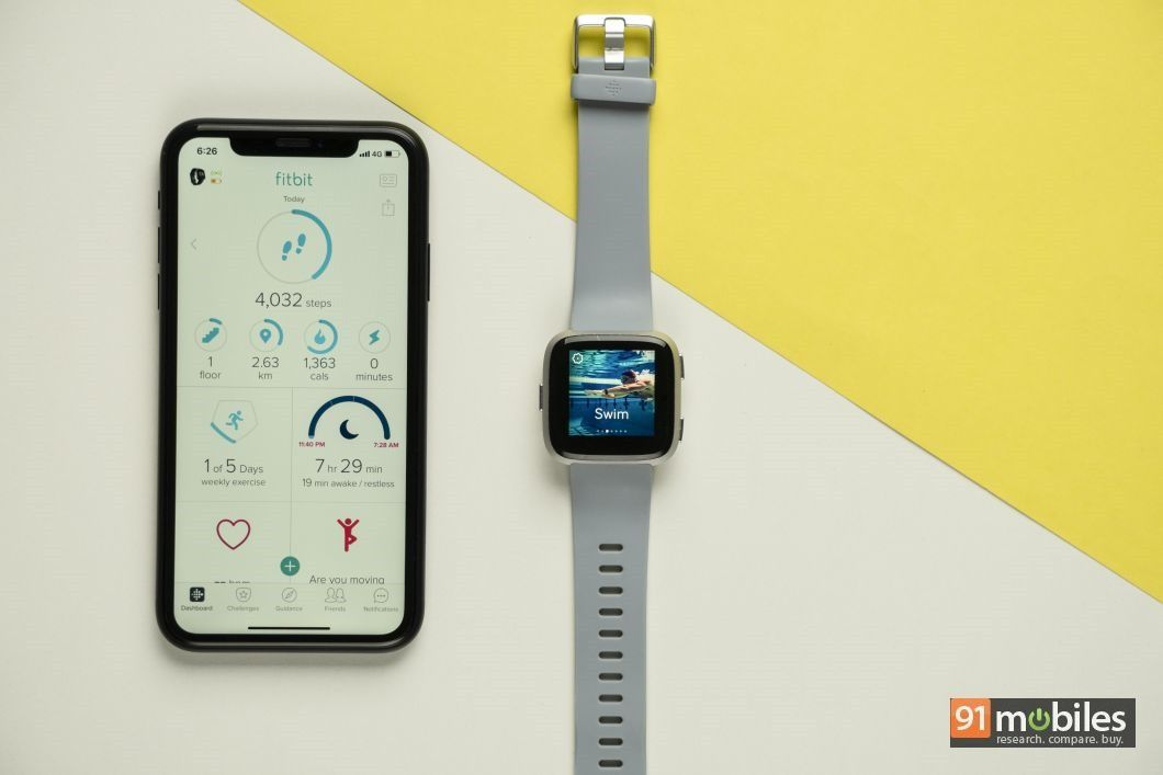 Fitbit Versa review - 91mobiles 18