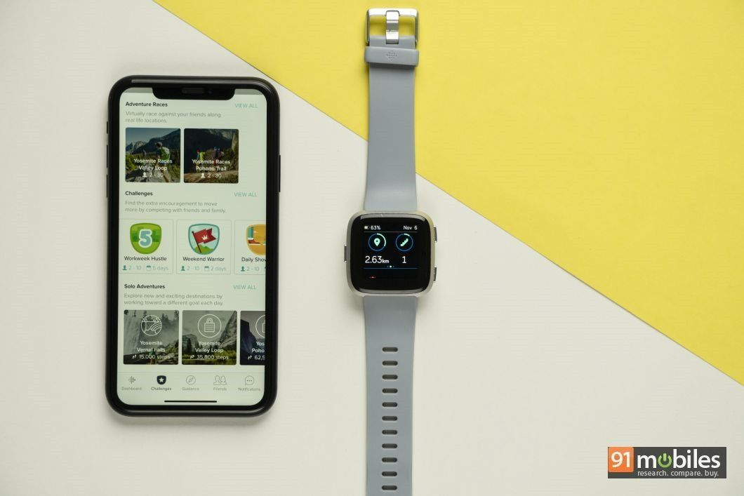 Fitbit Versa review - 91mobiles 20