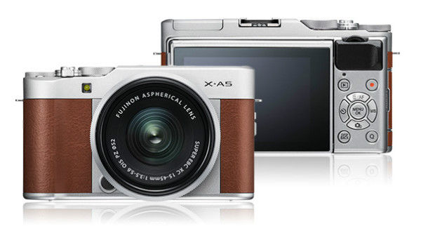 Fujifilm X-A5 - in text