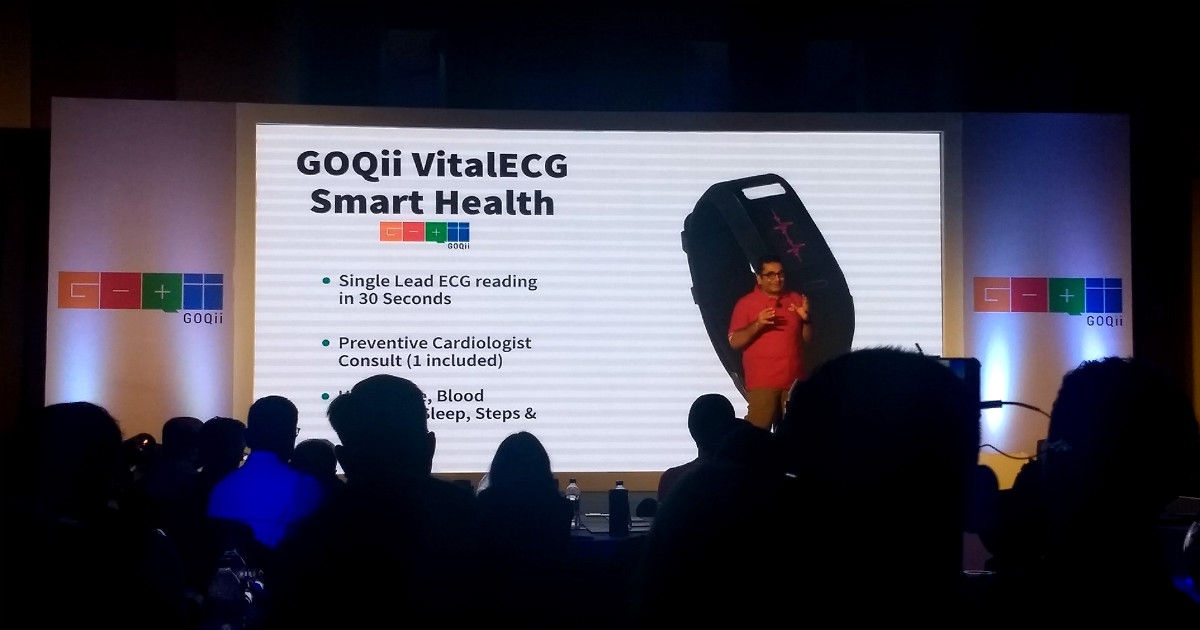 GOQii smart health launch - featured