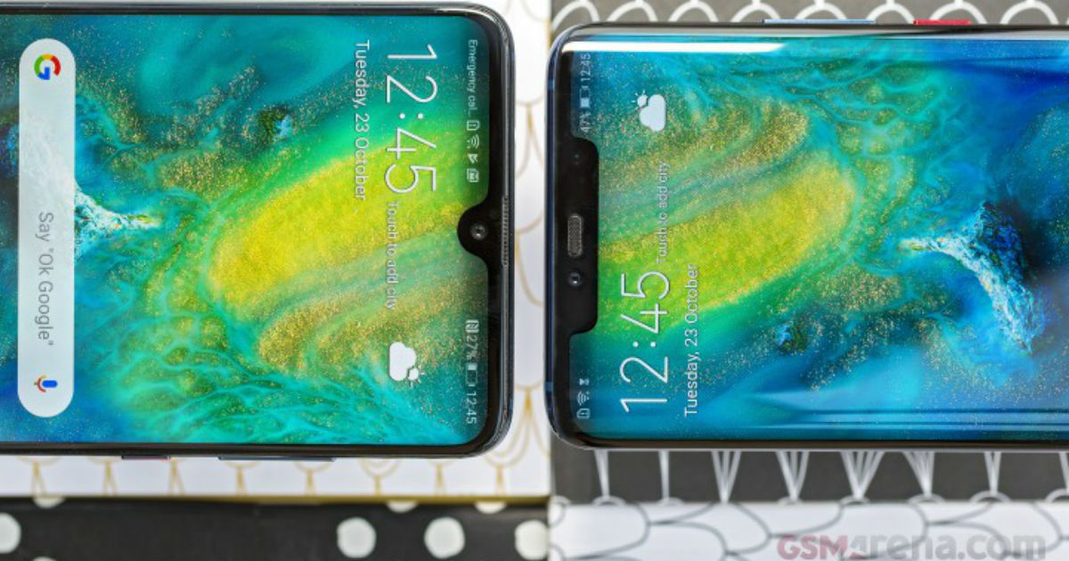 Huawei P30 Pro display leak - featured