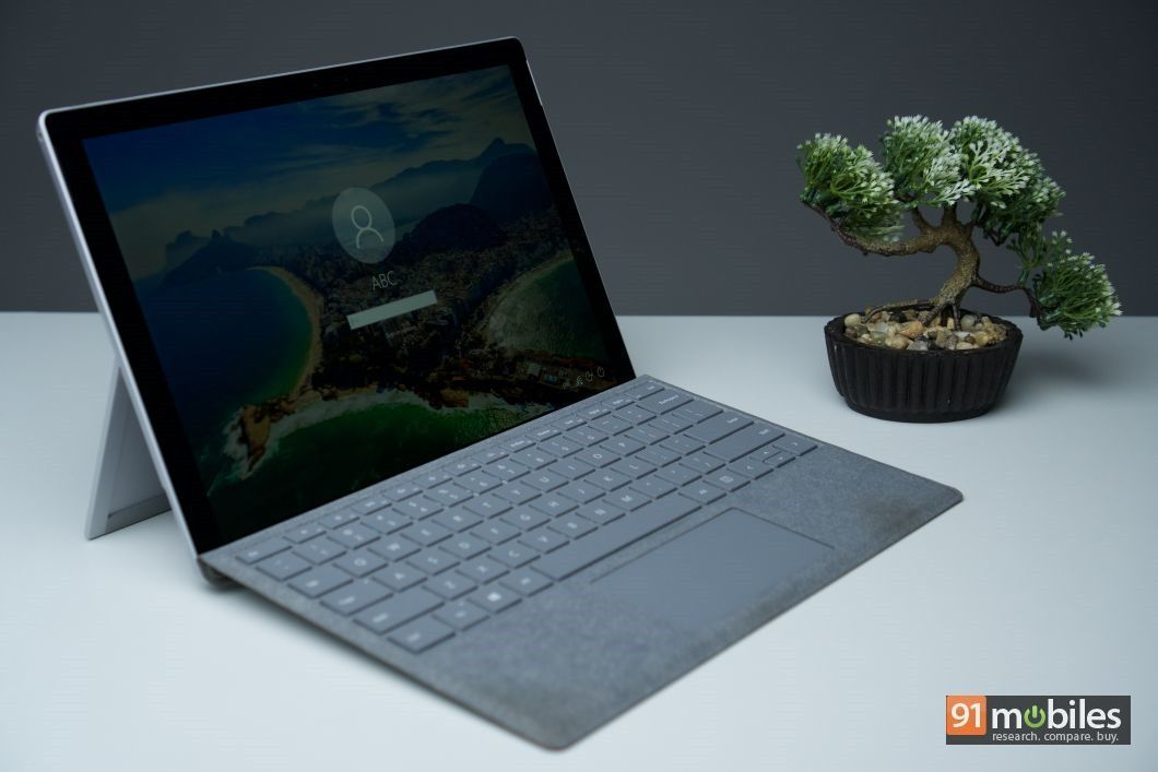 Microsoft Surface Pro review - 91mobiles 02