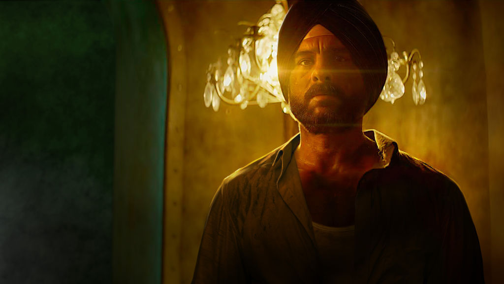 Netflix - Sacred Games - in text