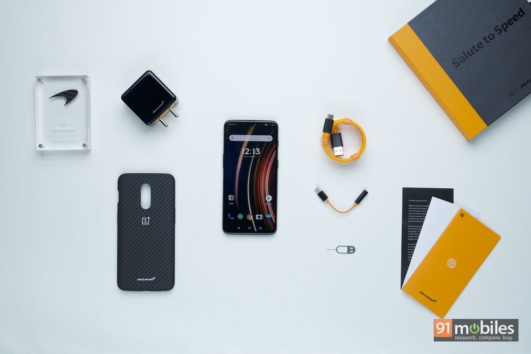 OnePlus 6T McLaren Edition first impressions - 91mobiles 01