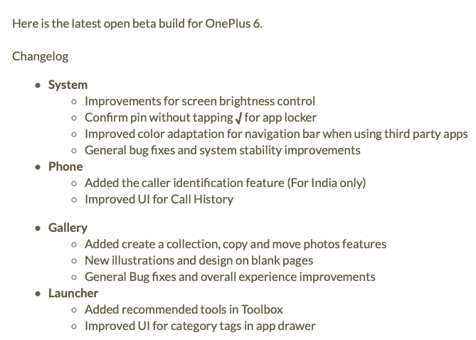 OxygenOS Open Beta 10