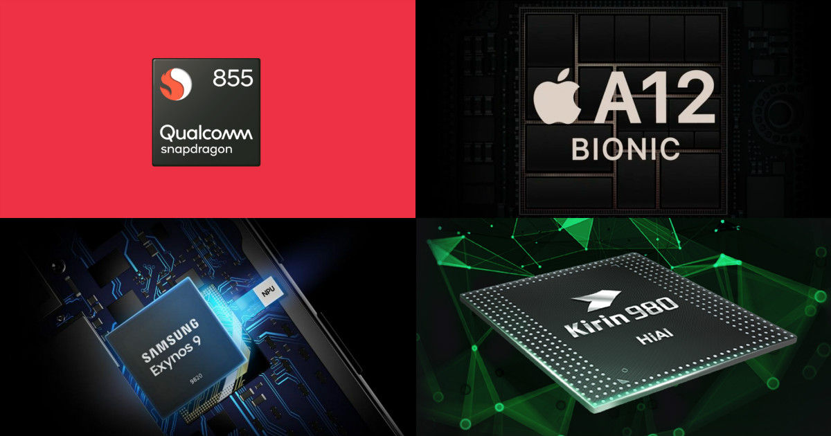 Processors compared: Qualcomm Snapdragon 855 vs HiSilicon