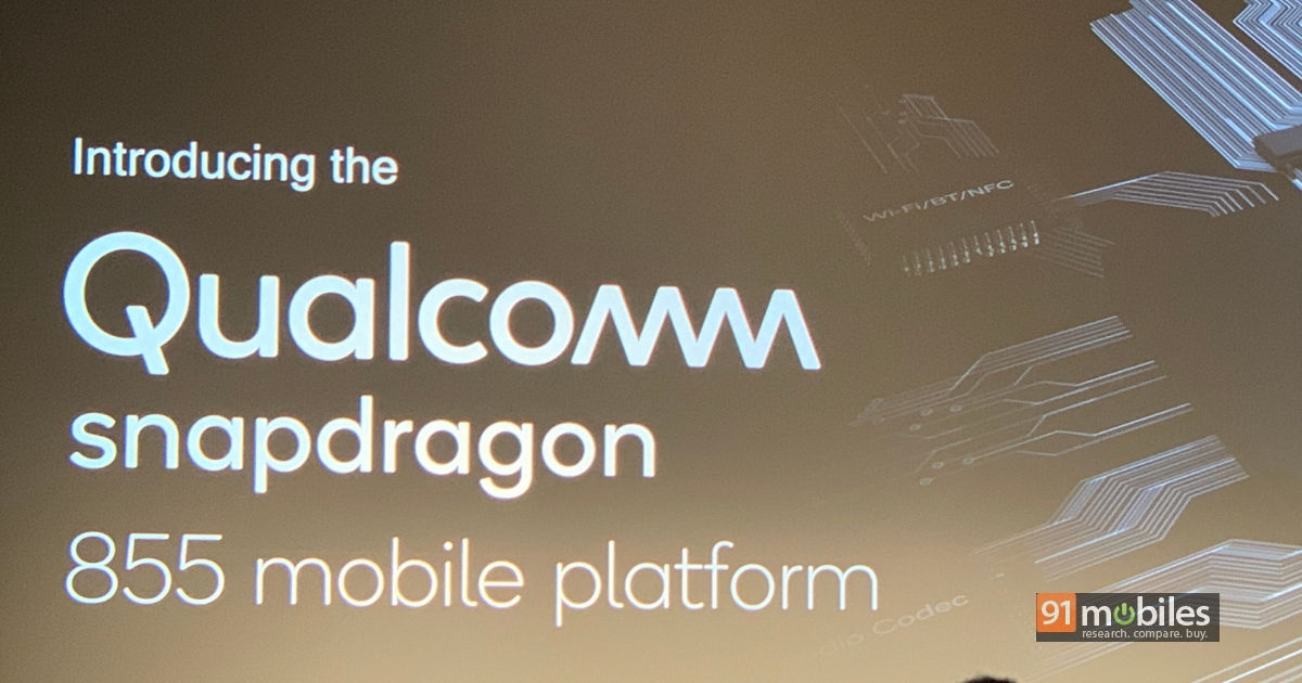 Qualcomm's Snapdragon 855 SoC goes official, tasked with delivering
