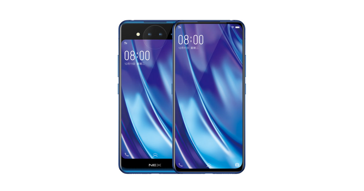 Vivo Nex 2 Dual Screen