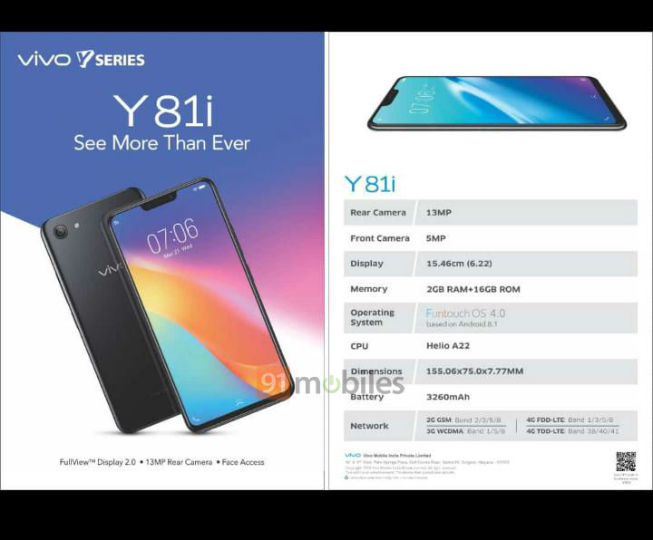 Vivo Y81i India launch 1