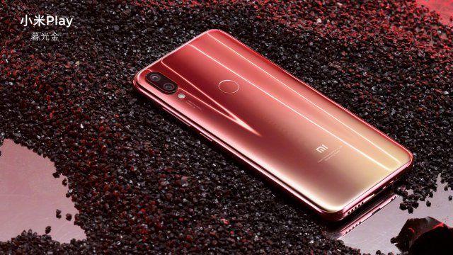 Xiaomi Mi Play Dawn Gold