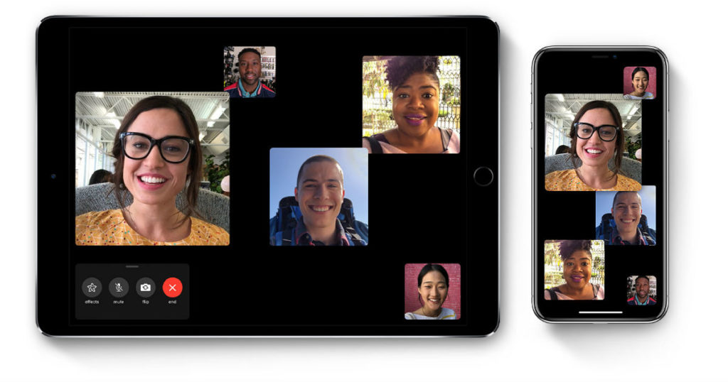 Apple Group FaceTime