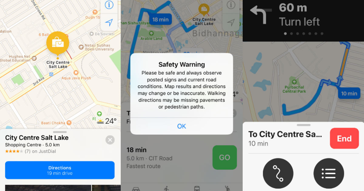 Apple Maps navigation India - featured