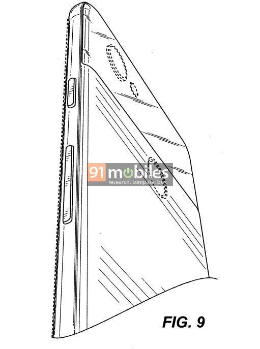 Google full screen phone patent 4