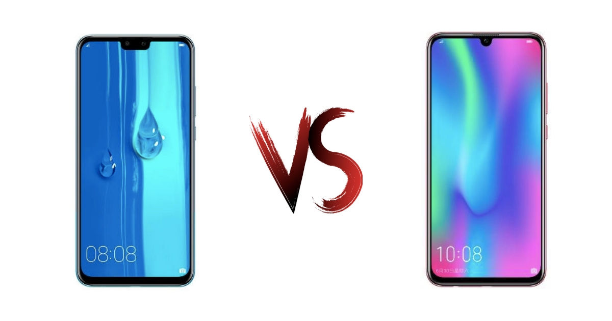 Huawei Y9 2019 vs Honor 10 Lite: cousins fight for the mid