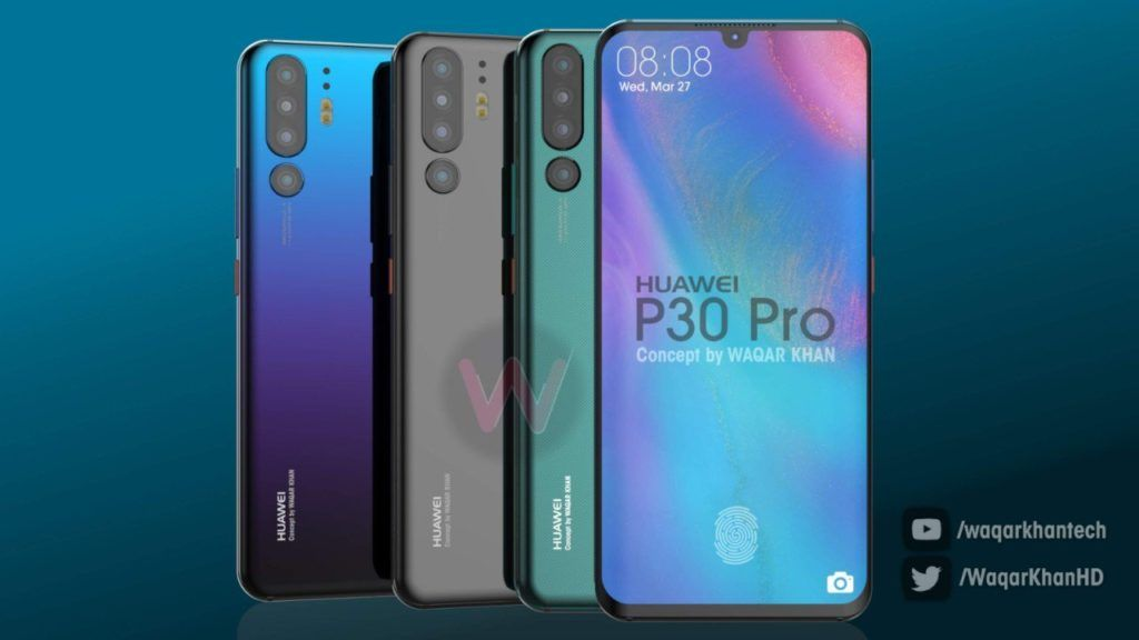 Huawei P30 allegedly coming with quad-cameras as suggested by camera