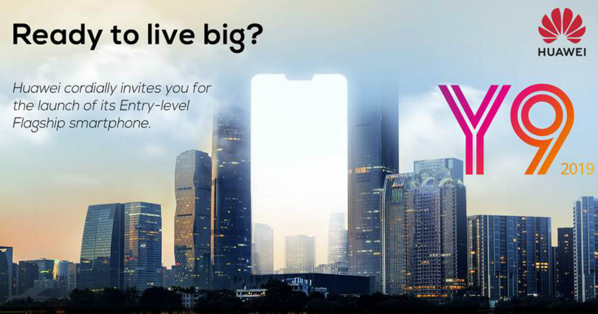 Huawei Y9 2019 India launch date