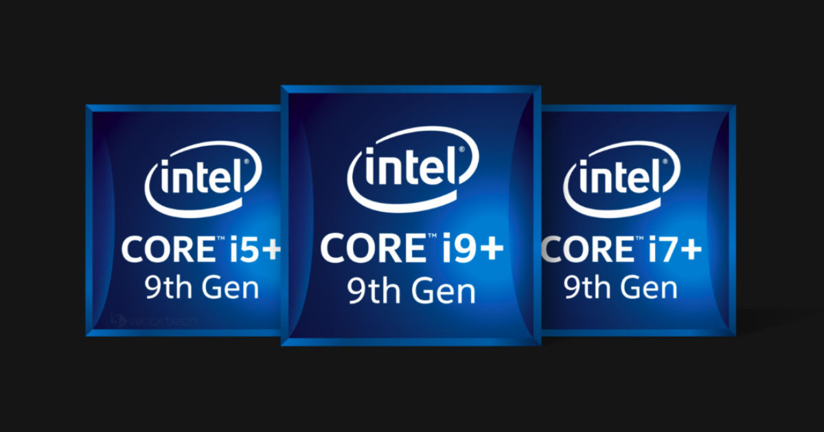 Intel 9th generation - featured