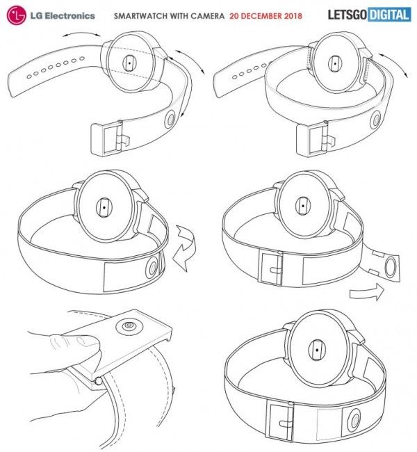 LG smartwatch patent