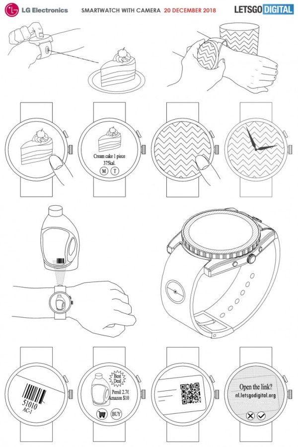 LG smartwatch patent_1