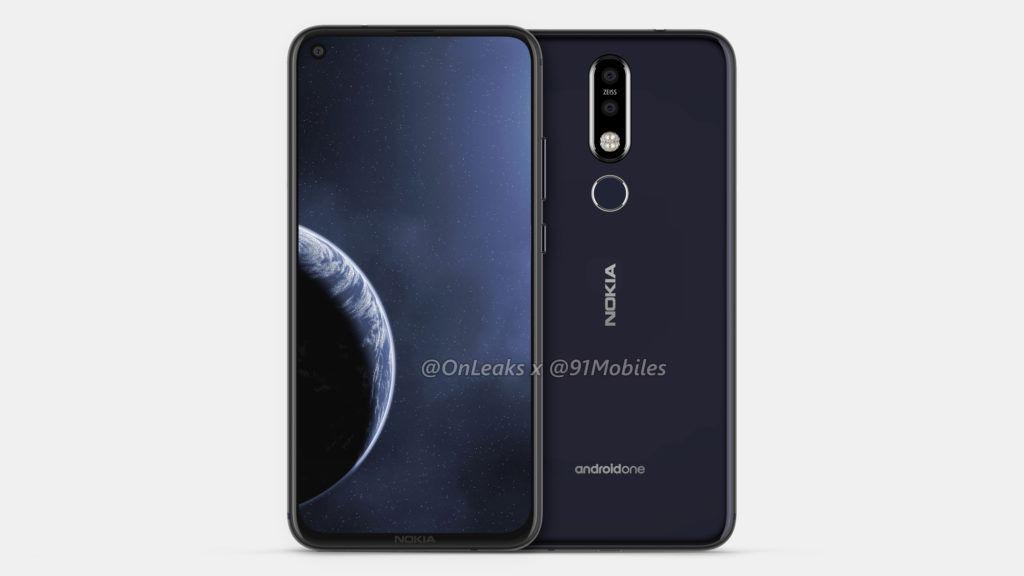 Nokia 8.1 Plus (concept render)