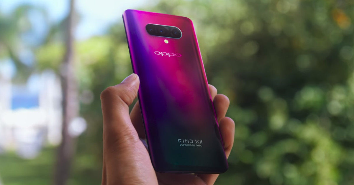 OPPO files for patent to use punch-hole selfie camera's dead
