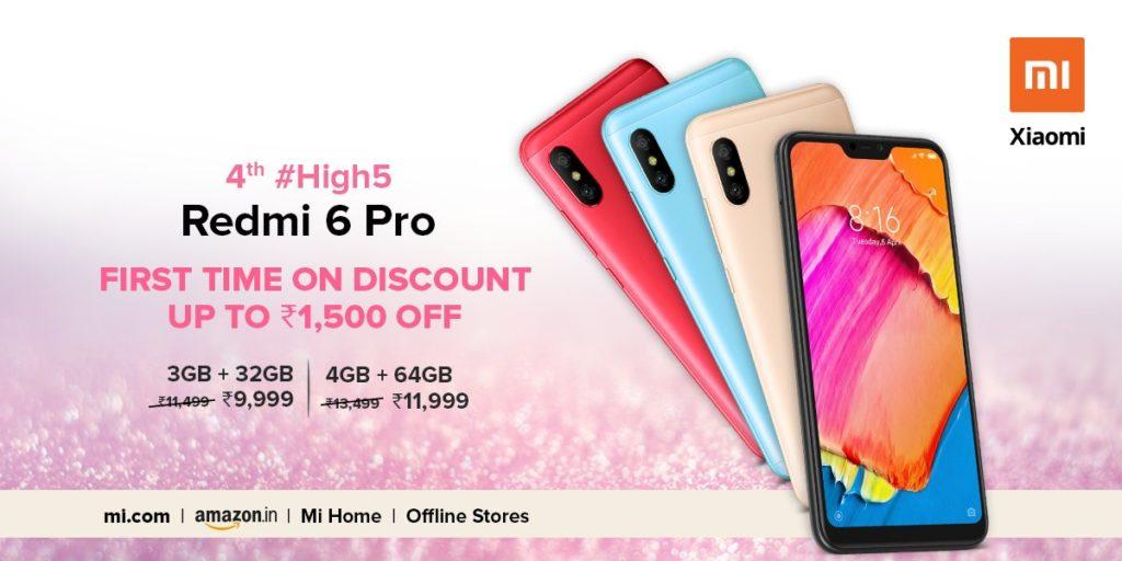 Redmi 6 Pro discount