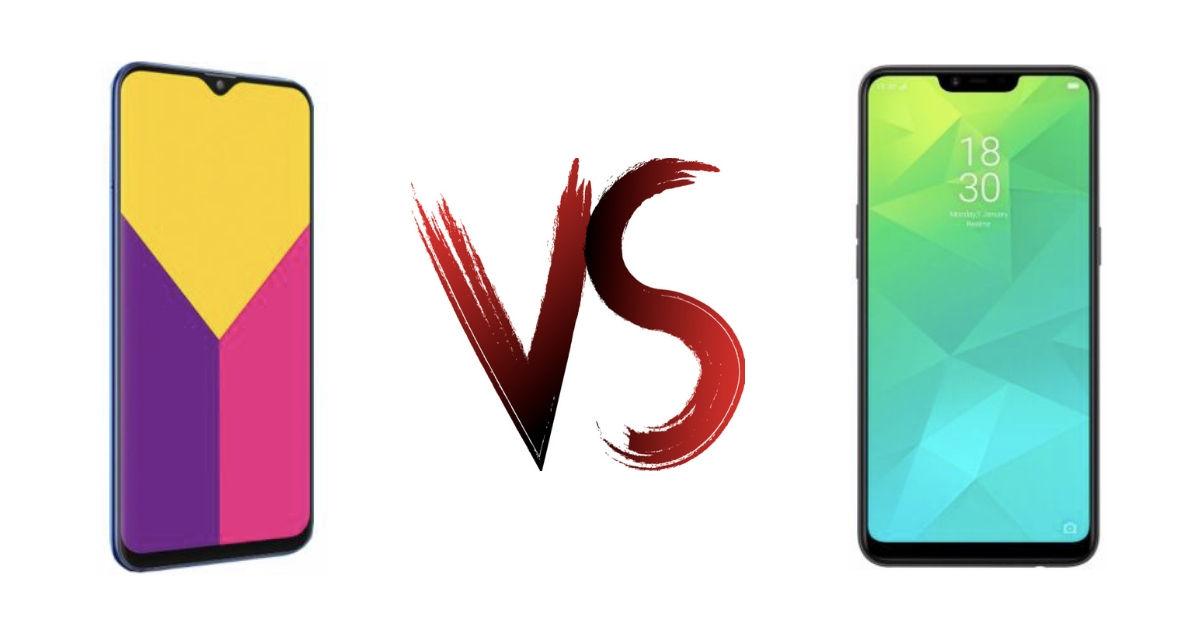245a0b05999 Samsung Galaxy M10 vs Realme 2  intensifying the sub-Rs 10k category ...