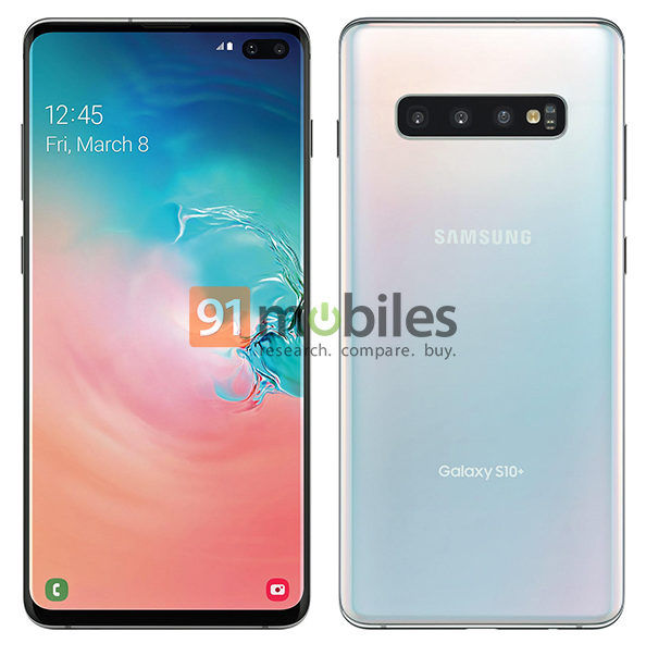 Samsung Galaxy S10 Plus official render