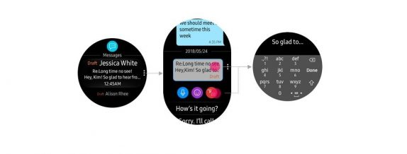 Samsung Gear S3 notifications
