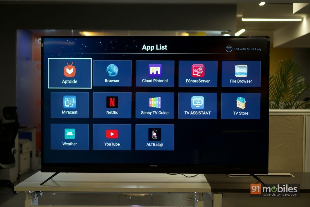 Shinco 65-inch 4K smart TV UFI 08