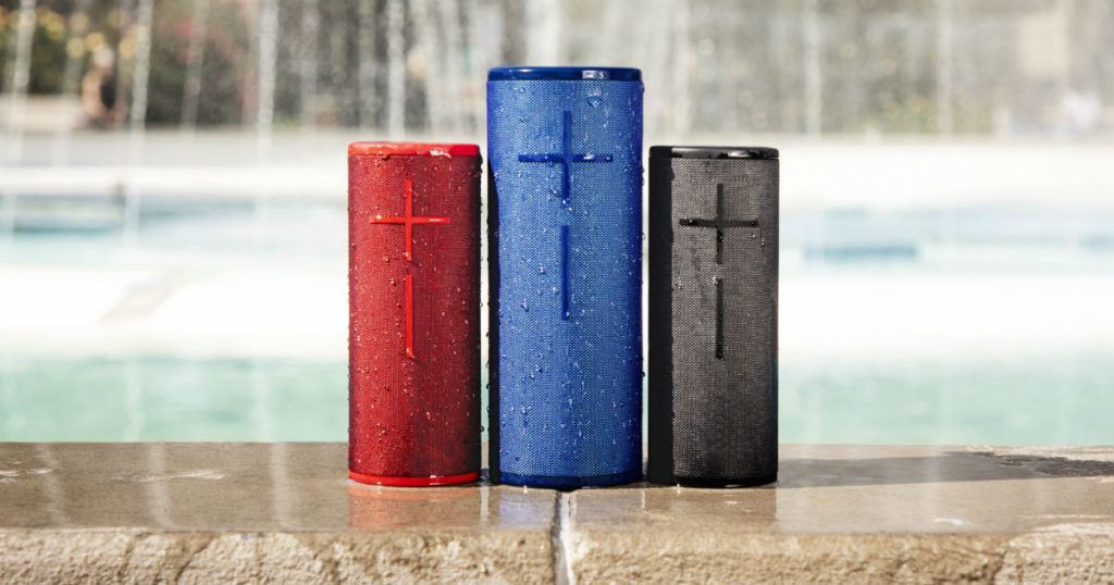 UE Boom 3 and Megaboom 3 - in text