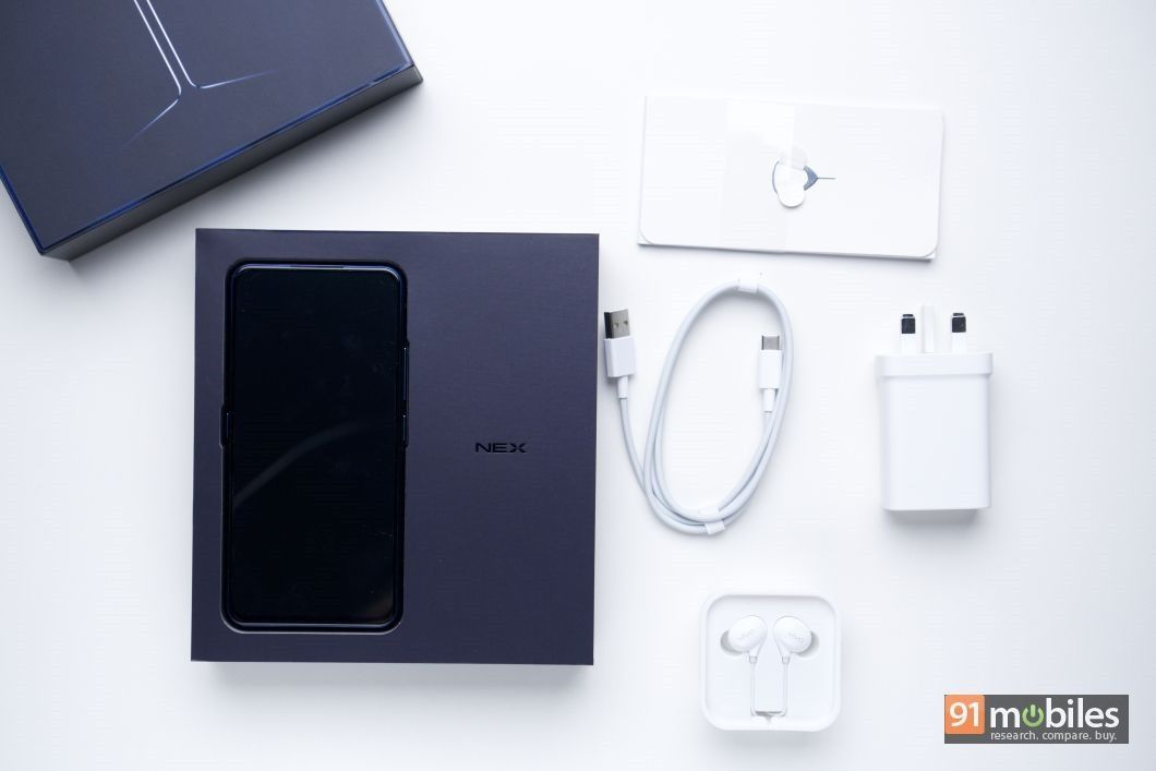 Vivo NEX Dual Display unboxing and first impressions - 91mobiles 03