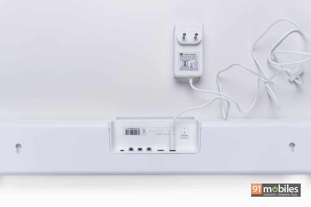 Xiaomi Mi Soundbar first impressions02