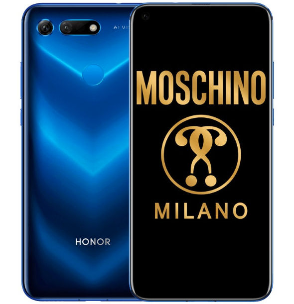 honor v20 moschino phantom blue