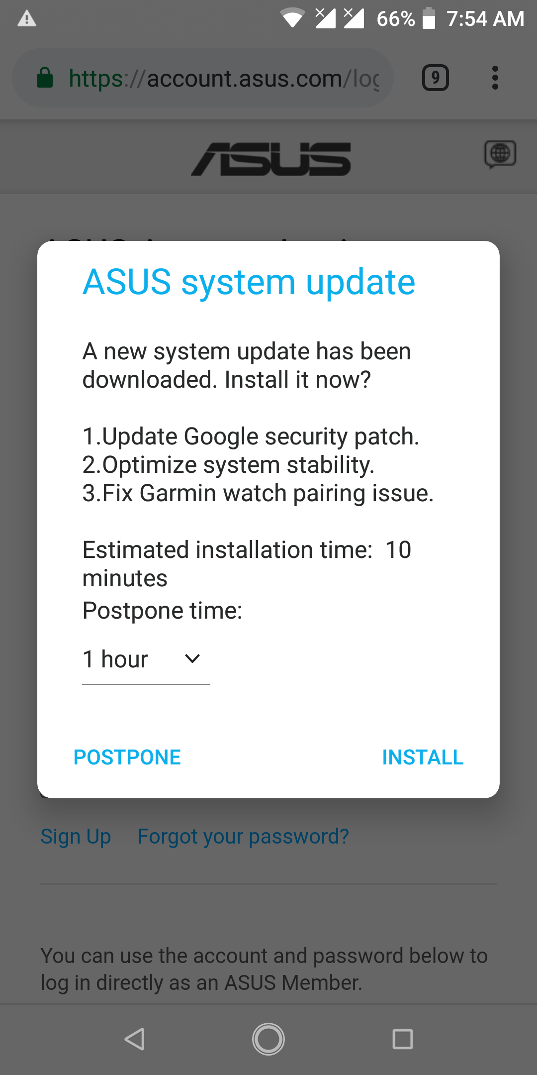 ASUS ZenFone Max Pro M1 firmware update with January security patch