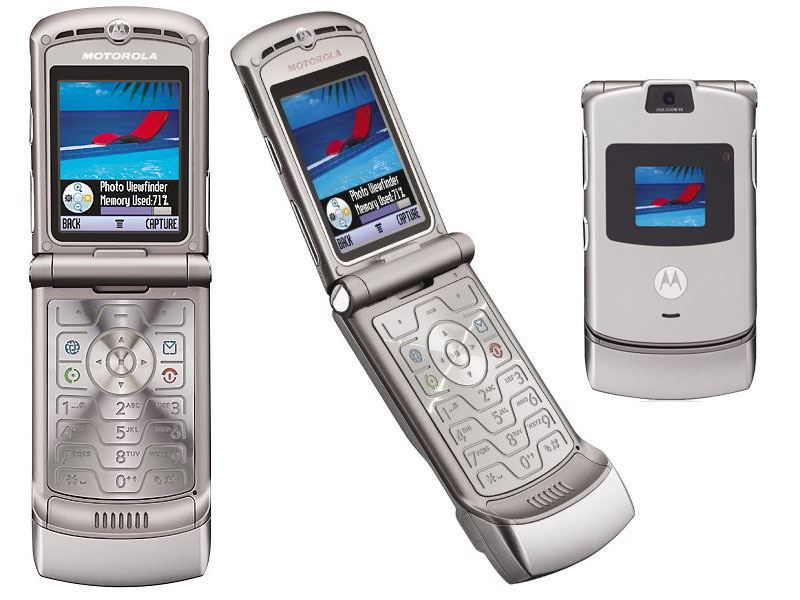 motorola razr cellphone