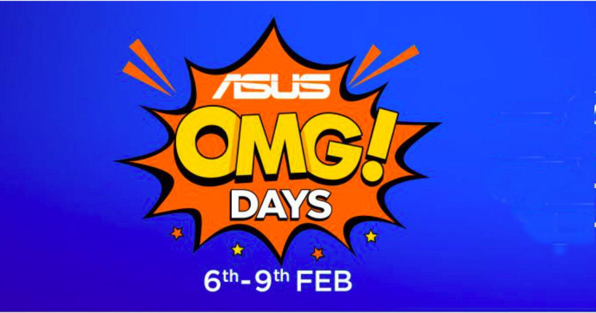ASUS OMG Days Sale Flipkart