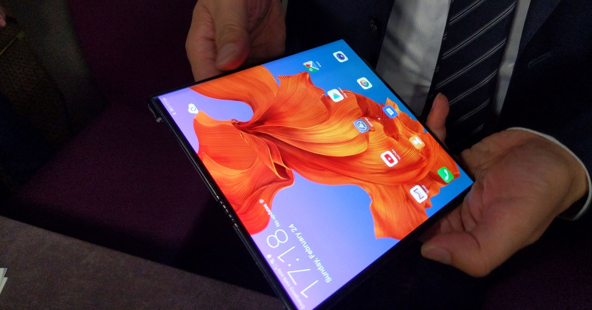 Huawei Mate X in pictures - 91mobiles FB feat