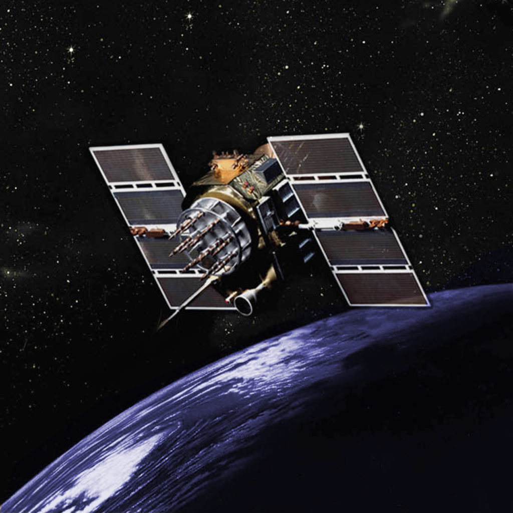 GPS Satellite. Credit: US NOAA