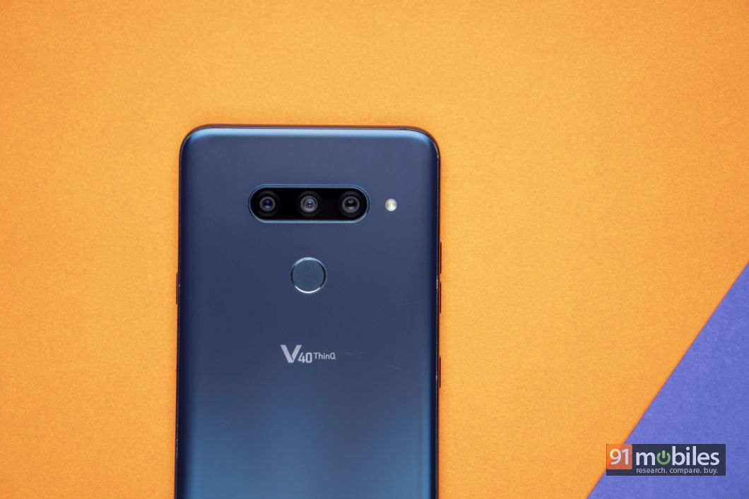 LG V40 ThinQ review: six of one, and half a dozen of the