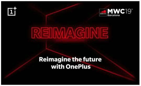 OnePlus MWC 2019 invite