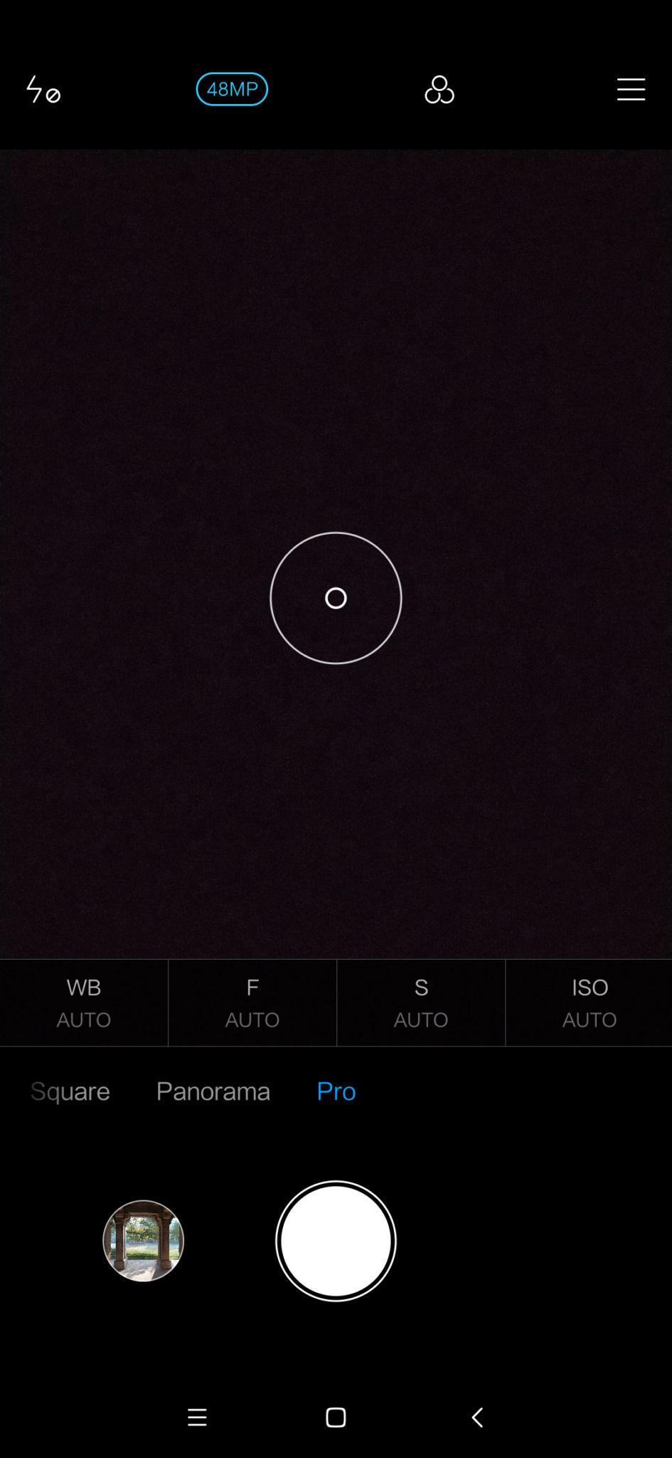 Redmi Note 7 Camera Interface 1