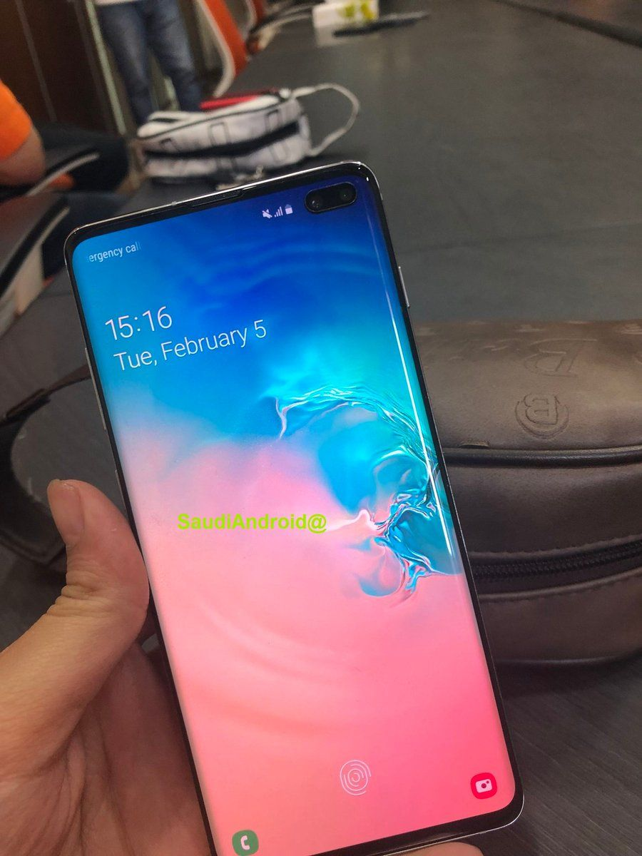 Samsung Galaxy S10 In-display FPS