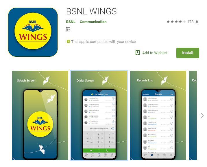 bsnl wings
