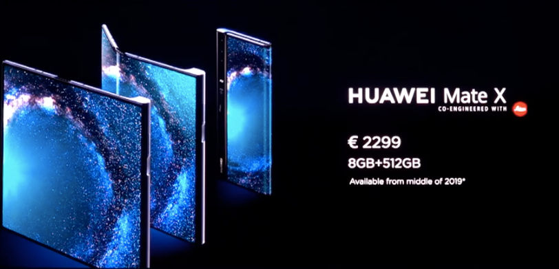 Image result for price of huawei mate x