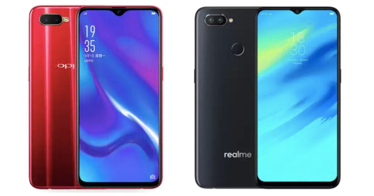 bf4d39107 OPPO K1 vs Realme 2 Pro  price in India