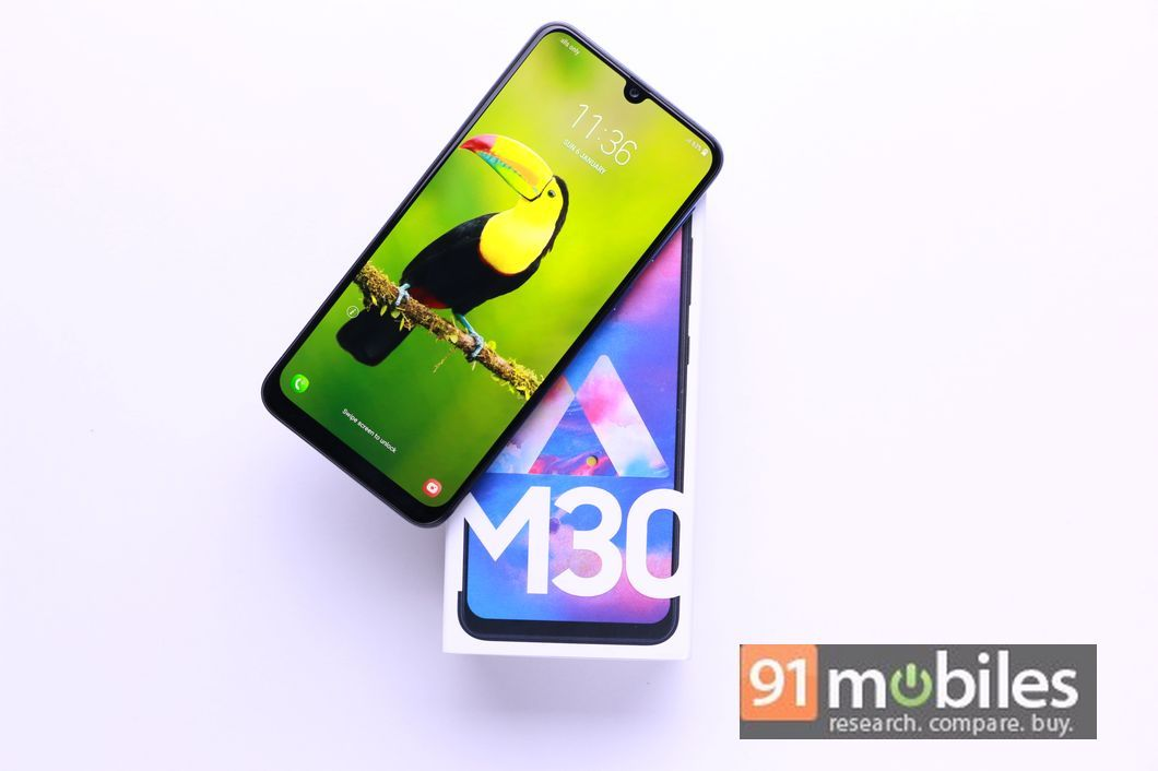 c6b1180d3ec2a6 Samsung Galaxy M30 goes on sale in India via Amazon and Samsung Shop ...