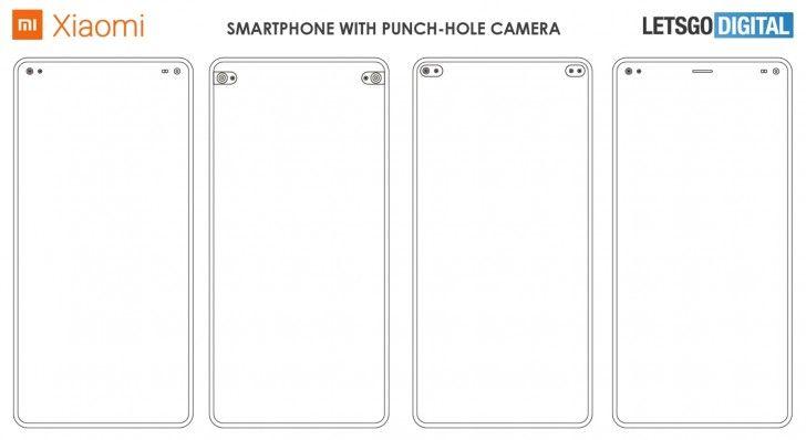 xiaomi punch hole smartphone