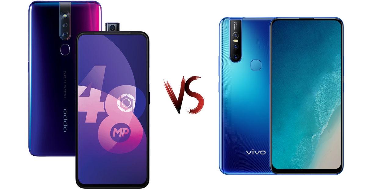 Vivo V15 vs OPPO F11 Pro: price in India, specifications compared