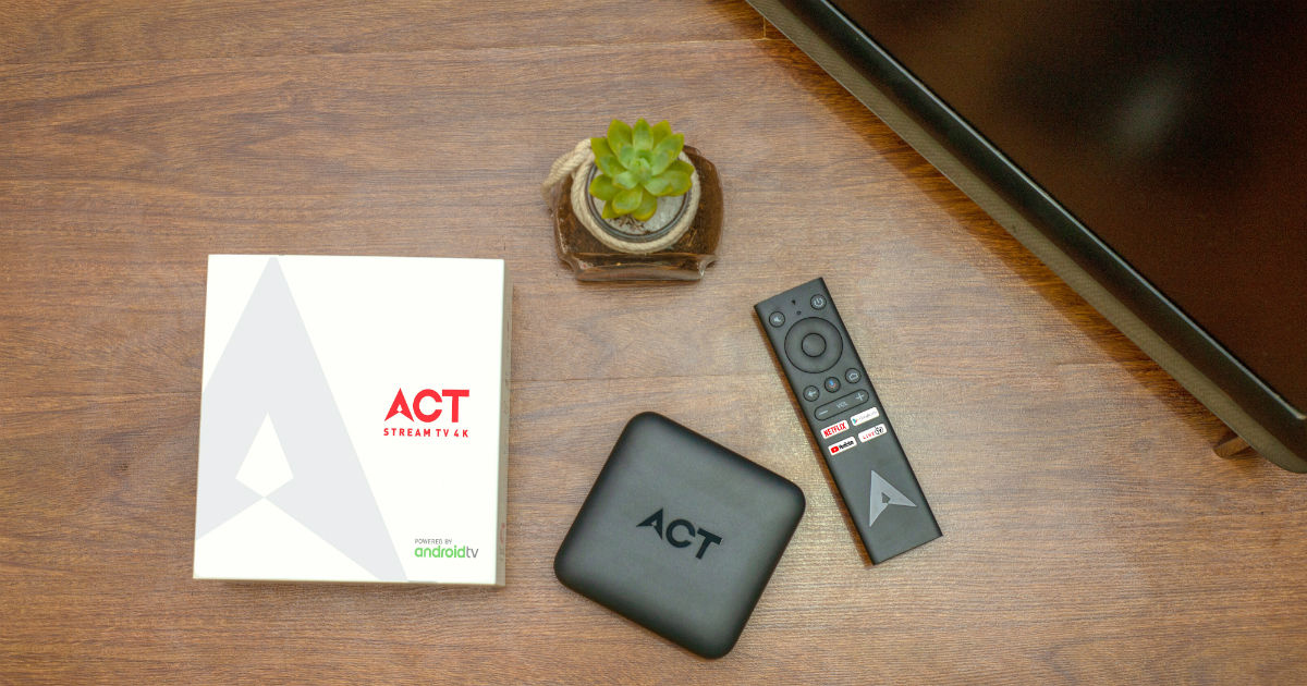 ACT Stream TV 4K streaming device now available for ACT